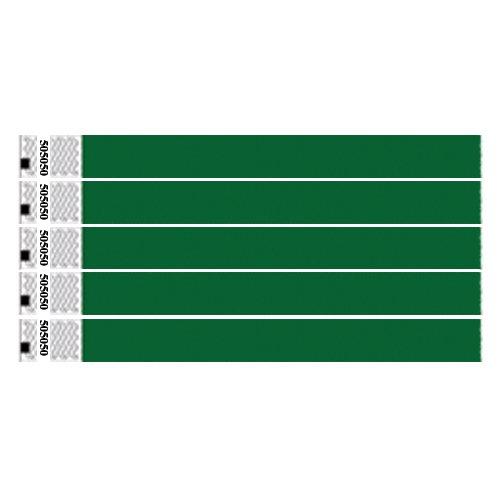clubking-juego-de-pulseras-fibras-de-polietileno-tyvek-1000-unidades-color-verde