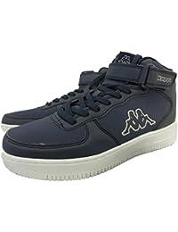 Kappa chaussures de sport unisexe 1326 - Basket de gymnastique, Bleu, Cuir-daim