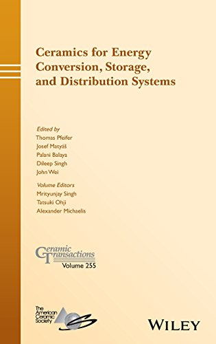 Ceramics for Energy Conversion, Storage, and Distribution Systems: Volume 255 (Ceramic Transactions Series)