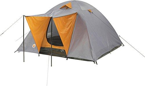 Grand Canyon Phoenix M Kuppelzelt (3-Personen-Zelt) grau/orange, 302015
