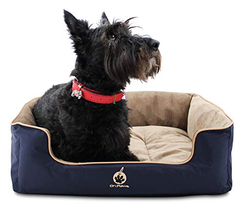 On Paws 'Sleep Well Lounger' Azul Oscuro