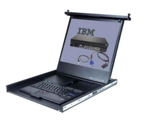 IBM 1U 43.2cm 17Zoll Flat Panel Console Kit =1723E Flat-panel-kit