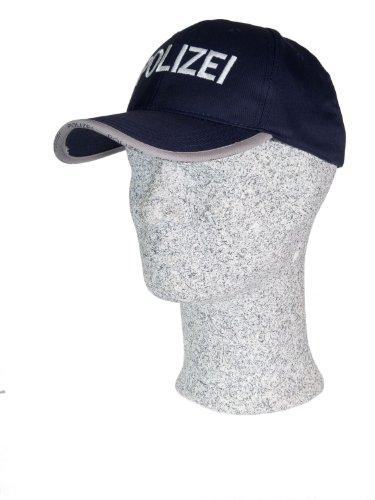 TacFirst Baseball Cap Polizei Navyblau, 1 SZ