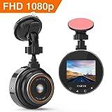 THIEYE Dash Cam Telecamera per Auto FHD 1080p Grandangolare di 170° Super-Condensatore WDR Visione Notturna Dashcam con Registrazione in Loop G-Sensor e 1.5'Schermo LCD Safeel Zero