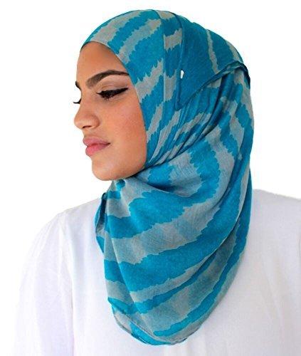 Hijab-ista - Fichu - Femme Bleu - Bleu