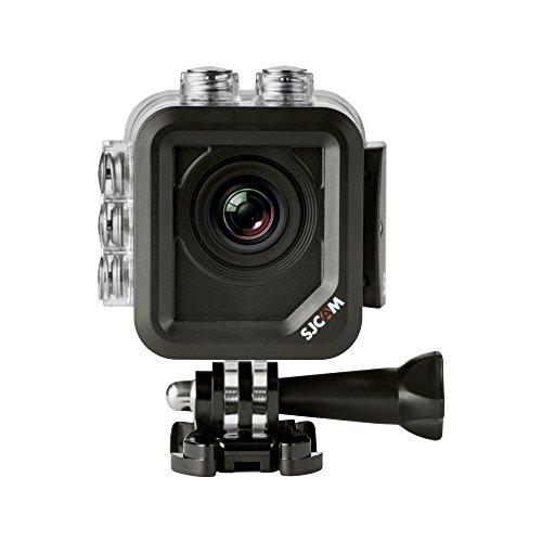 """SJCAM M10 WiFi (versión española) - Videocámara deportiva (LCD 1.5"""", 1080p, 30 fps, sumergible hasta 30 m), color plata"""