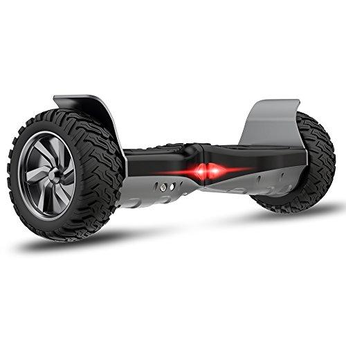 "Cool&Fun Challenger Basic 8,5\"" Hoverboard SUV App Elektro Scooter E-Balance E-Skateboard Elektroroller (Black)"
