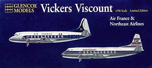 glencoe-1-96-vickers-viscount-air-france-northeast-airlines-kit-by-glencoe
