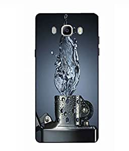 Case Cover Lighter Printed Blue Soft Back Cover For SAMSUNG Galaxy On8