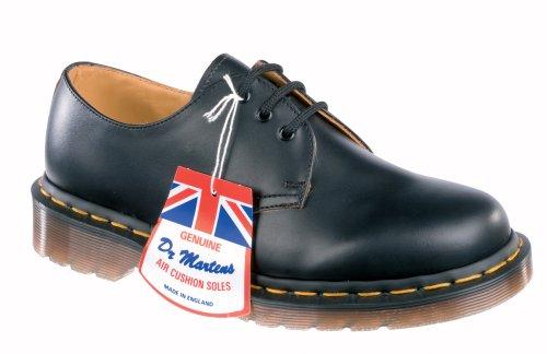 Dr. Martens Vintage 1461 - Made in England -Mocassins mixte adulte Noir-V.6