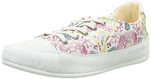 Chaussures Desigual - Desigual Happy 9, Baskets femme, Rose (3022
