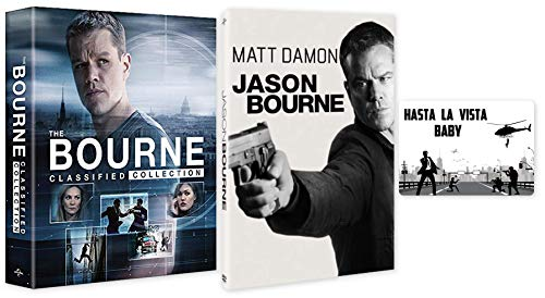 Jason Bourne: Complete 5 Movie Franchise DVD Collection with Bonus Art Card