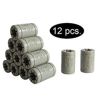 Igus Prusa i3 Upgrade Set Gleitlagern anstelle LM8UU für 3D Drucker (12 x RJ4JP-01-08 Igus DryLin®)