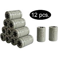 Igus - Set de cojinetes de deslizamiento para reemplazar los LM8UU de una impresora 3D RepRap, Mendel, Anet A6y A8 oPrusa i3