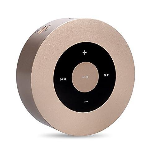 Mini Bluetooth Lautsprecher Elinker® Tragbare Wireless Lautsprecher mit Freisprech für MP3 Player, Smartphones, Pads, Laptops & andere Geräte