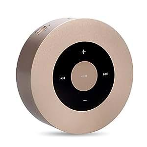 Mini Speaker Bluetooth Elinker® Portable Wireless Speaker con vivavoce per lettore MP3, smartphone, Pads, COMPUTER PORTATILI E Altri Dispositivi (oro)