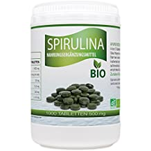 Spirulina Bio 500mg - 1000 Tabletten