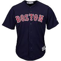 Majestic Athletic Boston Red Sox Cool Base MLB Replica Jersey Navy Baseball Trikot Tee T-Shirt