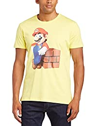 Nintendo Men's Mario Block Short Sleeve T-Shirt