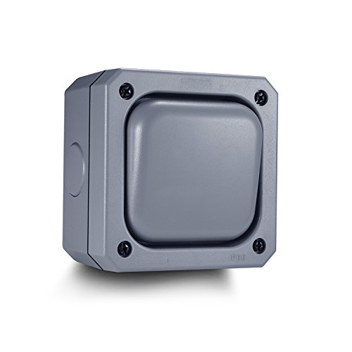 aodoka Outdoor Schalter Single wetterfest (1gang 10A IP66)