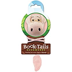 That Company Called If Book-Tails - Marcapáginas infantil, diseño cerdito