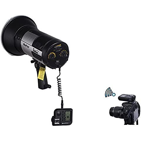 PhotaREX PB 400 Lettore HSS High Speed Flash per Nikon – 400 WS Flash