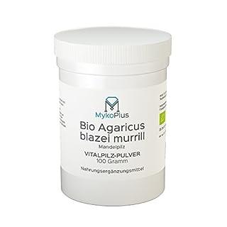 Bio Agaricus Vitalpilz-Pulver 100 Gramm vegan