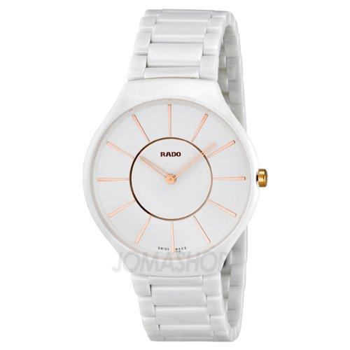 Rado Rado Verdadero Blanco Dial Cerámica Damas Reloj R27957102