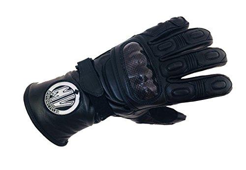 Guantes de Moto invierno baratos Cálido Impermeable Protección viento MV Motorcycles L