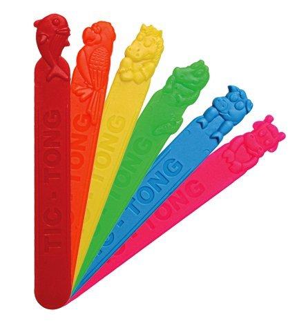 Mundspatel aus Kunstoff mit Frucht Aroma 40 Stück steril, mit Geschmack für Kinder oder Logopädie (Junior)