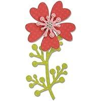 Fustella 3 pezzi Fiore fiori ramo rami