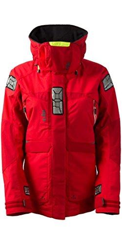 Gill Wasserdichte Hose (Gill Damen OS2 Coat Jacket Coat Rot mit Wärmeisolierung. Wasserdicht und atmungsaktiv - Thermal Warm Heat Layer Layers)