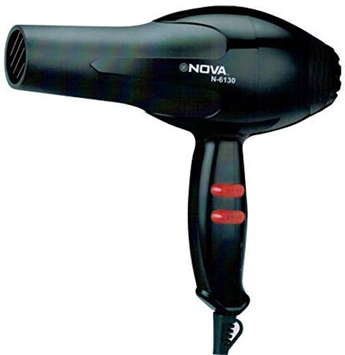 VEU NV-6130 Professional Salon Style Hair Dryer for Men and Women (Black, 1800W)