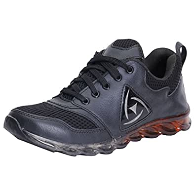 Knight Ace Kraasa 838 Sports Shoes Black UK 10
