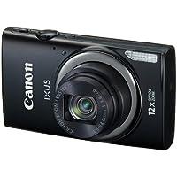 Canon IXUS 265 HSCompact Digital Camera - Black (16MP, 12x Optical Zoom, 24x ZoomPlus, Wifi, NFC) 3inch LCD
