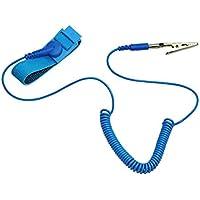 Preisvergleich für VENI MASEE Anti-Static Armband Armband/Band ESD Entladung, verhindert Aufbau statischer Elektrizität, blaue Farbe...