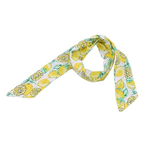 nband Ananas Banane Zitrone Kiwi Blume Obst Druck Kopfschmuck Kinder Stirnband, orange ()