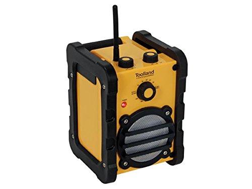 Perel WR25205 Radio de chantier robuste