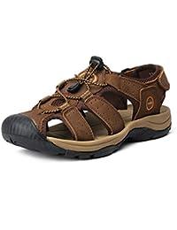 Herren Trekking-Sandale Pantoletten Sommer Schuhe Sandalen Outdoor Sandalette 650245
