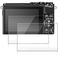 Films de Protection d'Ecran pour Nikon 1 J5 / 1 J4 / 1 V3, AFUNTA Protecteur de Caméra en Verre Trempé Optique (Pack 2)