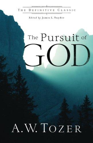 Pursuit of God por A.W. Tozer