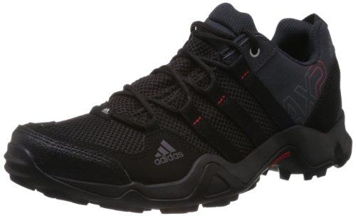 adidas Originals AX2 Herren Trekking & Wanderhalbschuhe, Grau (Dark Shale/Black 1/Light Scarlet), 41 1/3 EU