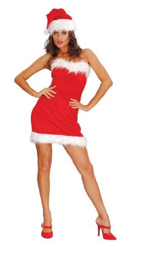 Sexy Santa Lady Weihnachtsfrau Kostüm S (Lady Kostüme Santa)