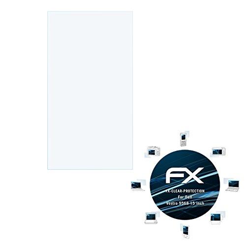 atFolix Schutzfolie kompatibel mit Dell Vostro 5568 15 inch Folie, ultraklare FX Bildschirmschutzfolie (2X)