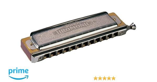 Harmonica Chromatic Hohner Super Chromonica 270//48 in C Tenor C Tenor