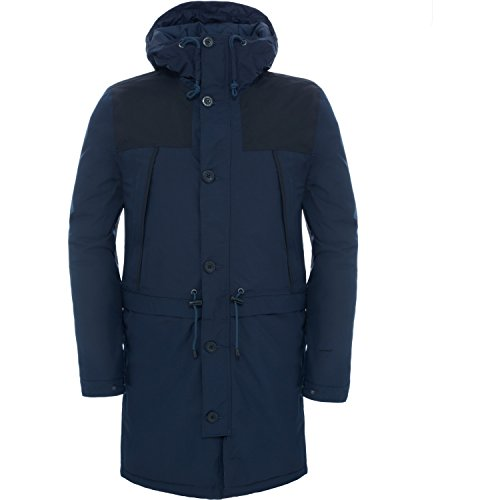 North Face M Mountain Parka, Blu/Urban Navy, XL