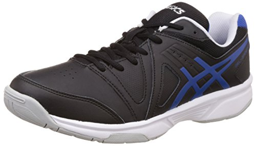 ASICS Men's Gel-Gamepoint Black, Blue and White Tennis Shoes - 8 UK/India (42.5 EU) (9 US)  available at amazon for Rs.3399