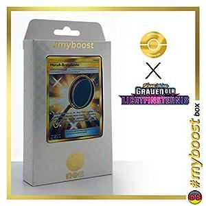 Metall-Bratpfanne (Sartén Metálica ) 144/131 Entrenadore Secreta - #myboost X Sonne & Mond 6 Grauen Der Lichtfinsternis - Box de 10 Cartas Pokémon Aleman