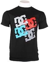 DC Shoes Herren Rundhals Skater T-Shirt Freizeit Kurzarm Shirt Logo