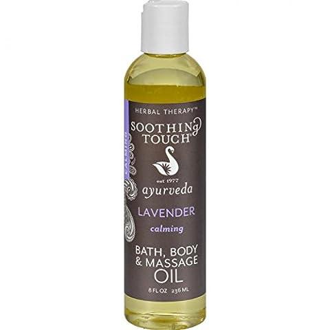 Bath and Body Oil - Lavender - 8 oz